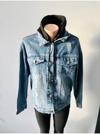Джинсова куртка Fashion на весну, осінь, демісезон в Україні