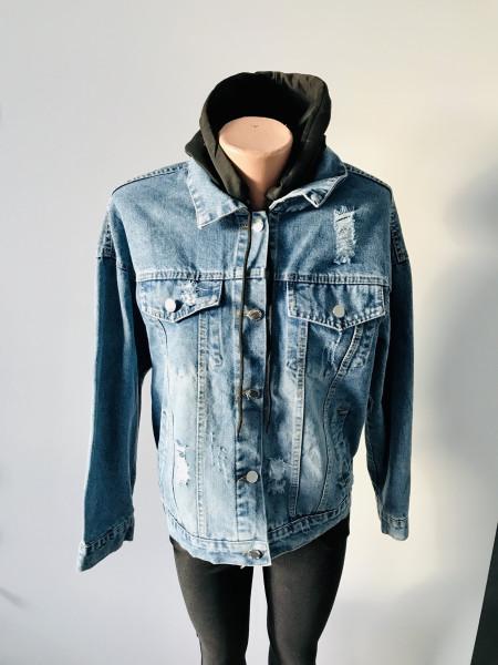 Джинсовая куртка Fashion на весну, осень и демисезон в Украине