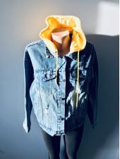 Джинсова куртка Fashion jeans весна, осінь, демісезон