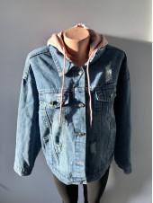 Джинсова куртка Fashion jeans недорого оптом і роздріб