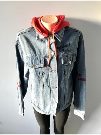 Fashion jeans - джинсовая куртка весна - осень - демисезон