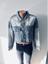 Купити джинсову куртку SSLG fashion - оптом і роздріб