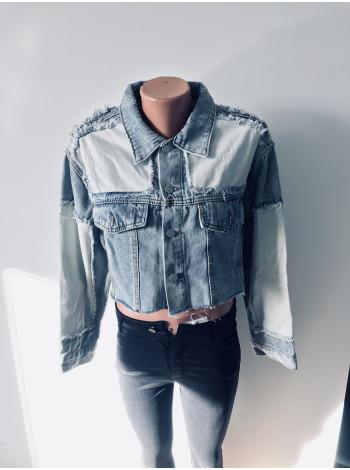 Купити джинсову куртку SSLG fashion оптом і роздріб