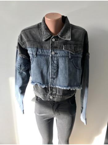 Джинсові куртки SSLG fashion оптом і в роздріб