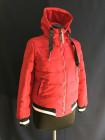 Куртка демісезонна, спортивна, червона під гумку. Фабричний Китай фото №2