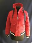 Куртка демісезонна, спортивна, червона під гумку. Фабричний Китай фото №3
