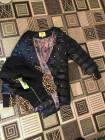 Куртка VO TARUN синяя c отстегивающимся трикотажным капюшоном  фото №3