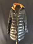Зимова жіноча пухова куртка синього кольору VO TARUN фото №2