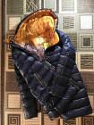 Зимова жіноча пухова куртка синього кольору VO TARUN фото №3