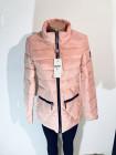Женские куртки осень синего, цвета пудры и красного цвета фото №3