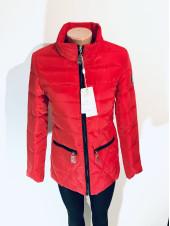 Жіночі куртки осінь - синього, персикового та червоного кольору
