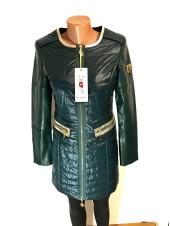 Куртка жіноча осінь - весна Vo tarun на демісезон зеленого кольору
