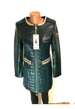 Куртка женская осень - весна Vo tarun на демисезон зеленого цвета