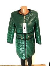 Жіноча куртка осінь Vo Tarun зеленого кольору