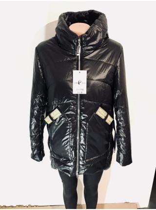 Куртки женские осень весна - серая, бежевая, черного цвета