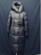 Купити пальто одеяло зимове жіноче. Колір синій, холлофайбер