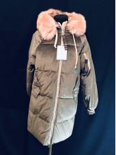 Молодіжне зимове пальто
