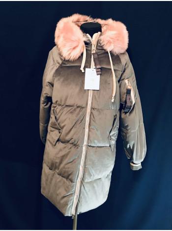 Женское молодежное зимние пальто
