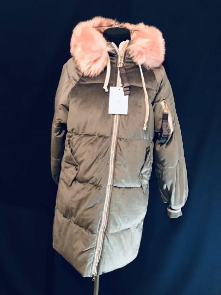Молодежное зимние пальто