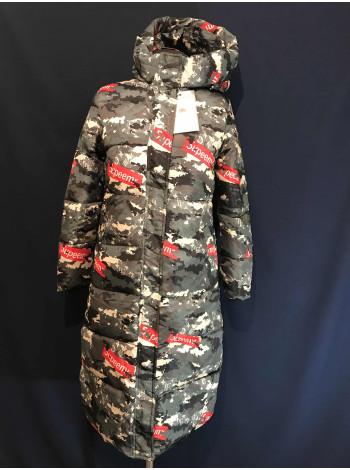 Женское пальто зимнее Supeemr купить недорого оптом и розница
