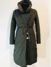 Пальто зимове жіноче - наповнювач холлофайбер