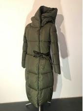 Зимове пальто жіноче Qihongyun колір хакі