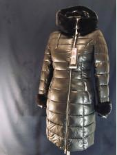Зимний женский пуховик AILIGESS - черный