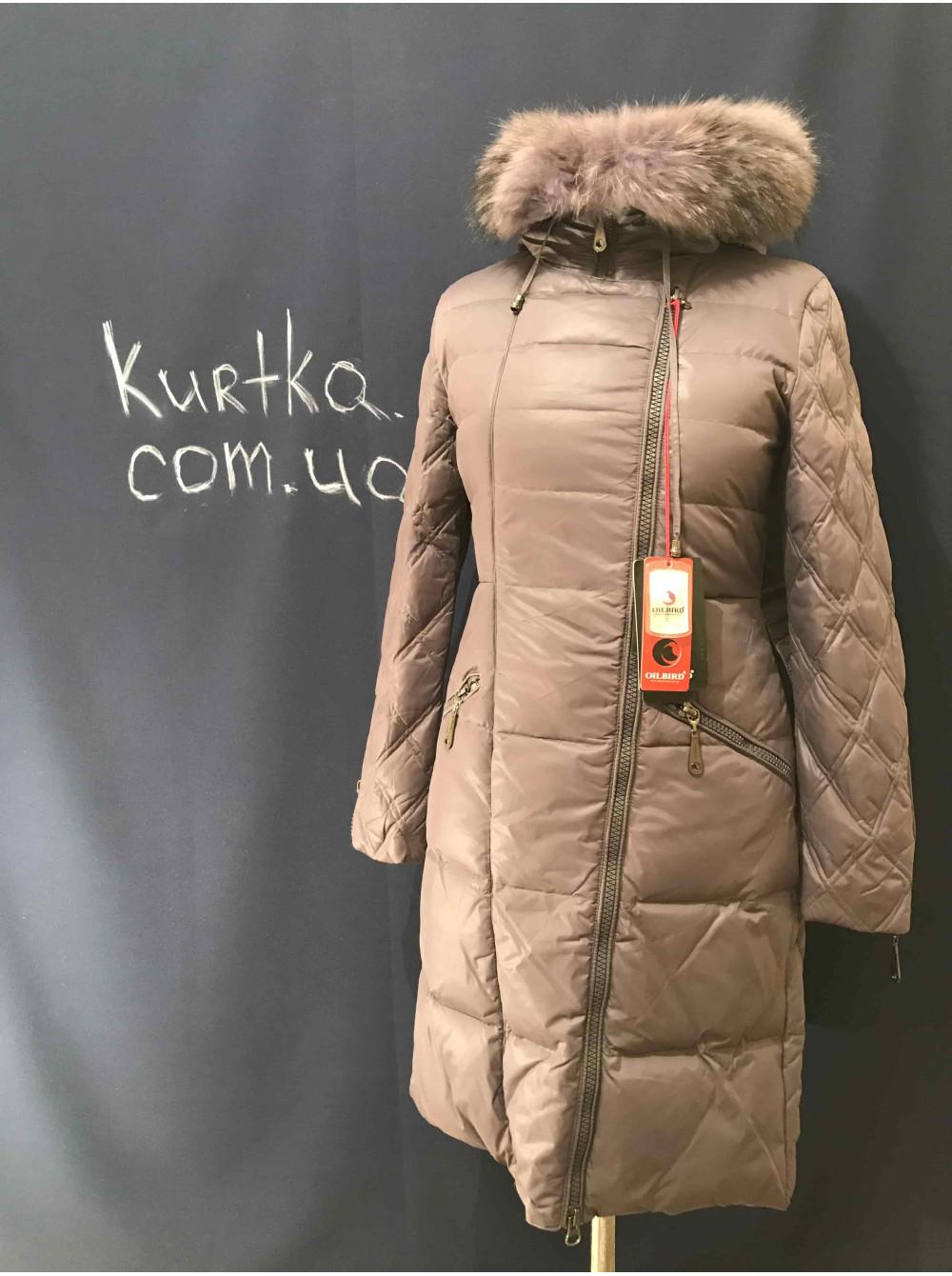 Купити зимовий жіночий пуховик з натуральним хутром Oilbird Україна ... e5a75a28d5984