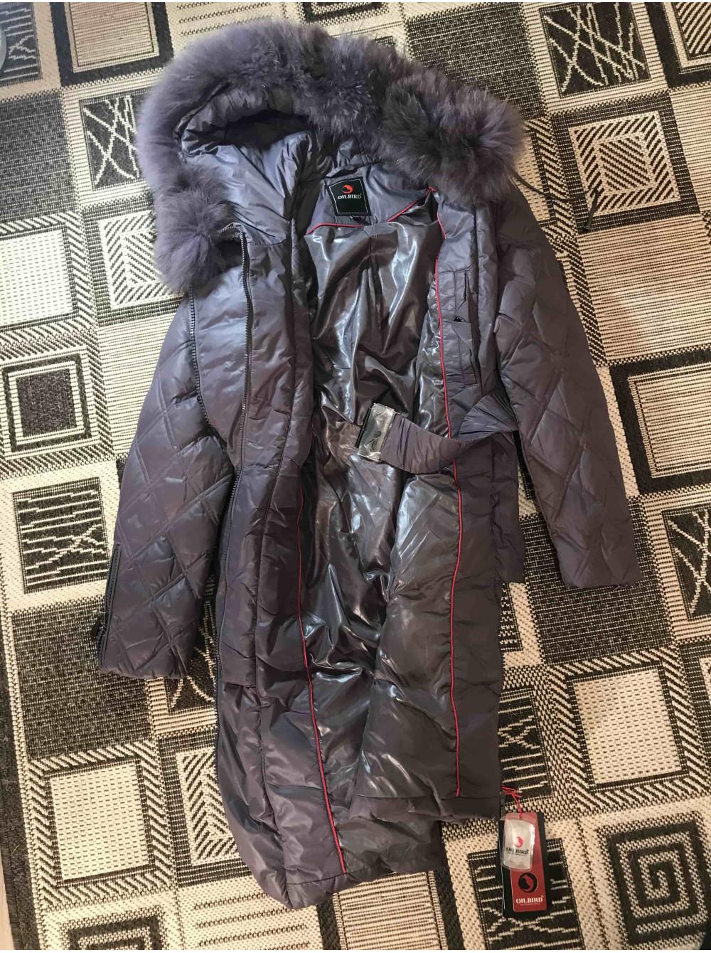 Купити зимовий жіночий пуховик з натуральним хутром Oilbird Україна ... d5c06721efada