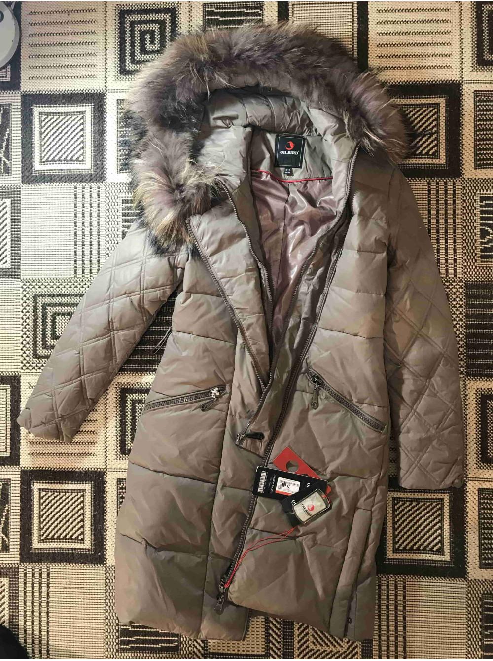 Купити зимовий жіночий пуховик Oilbird c натуральним хутром фото №3 6d8794e69fd74