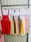 Жіночий сарафан двійка з футболкою в різних кольорах фото №3