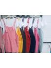 Купити жіночі сарафани двійки з футболкою на літо фото №3