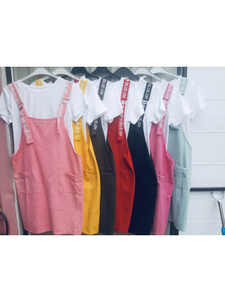Купить женские сарафаны двойки с футболкой на лето