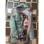 Snowimage женский пуховик на зиму - цвет бирюза 301