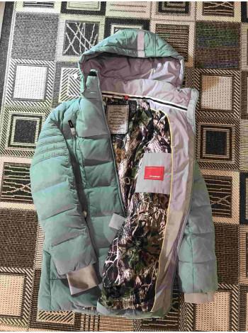 Snowimage жіночий пуховик на зиму - колір бірюза