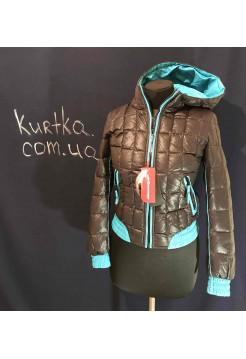 Пуховик Snowimage купить в Украине. Модель 104 цвет бирюза