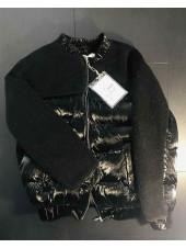 Куртка демісезонна з штучним хутром