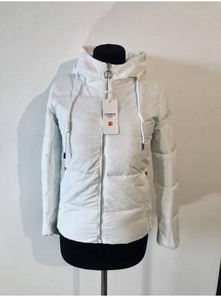 Куртки на весну Fashion 1819 белая