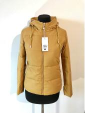 Куртки женские весна Fashion 1819 желтая
