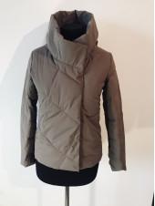 Куртки на весну QianYu 9069 колір мокко