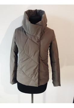 Куртки на весну QianYu 9069 цвет мокко