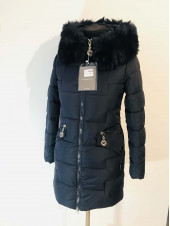 Куртка зимняя женская 1889 синяя