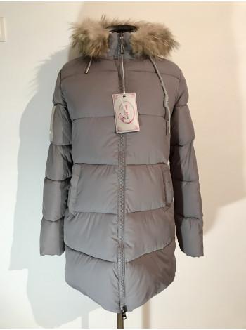 Зимові куртки з натуральним хутром Moon Mango