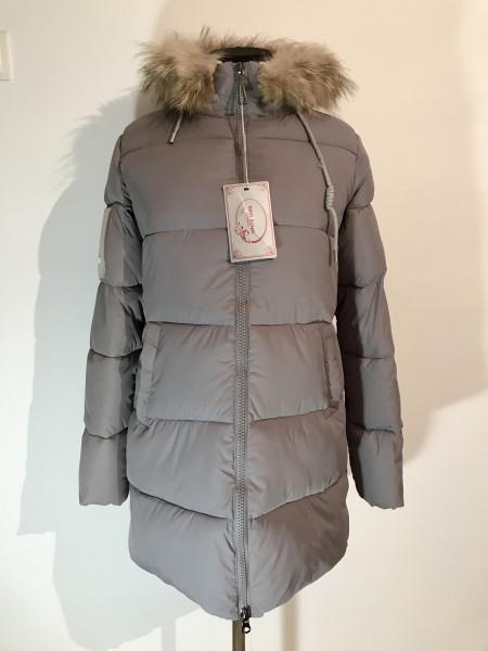 Зимові куртки з хутром Moon Mango