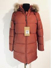 Зимние куртки женские 9980 цвет терракот