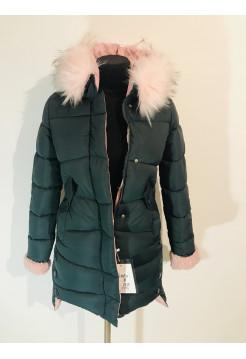 Зимова куртка qianyu 1930 зі штучним хутром
