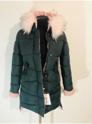 Зимова куртка QianYu з штучним хутром