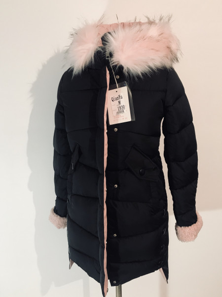 Зимова куртка qianyu зі штучним хутром