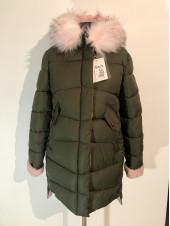 Зимова куртка qianyu на холлофайбері