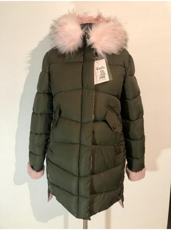 Зимова жіноча куртка QianYu на холлофайбері